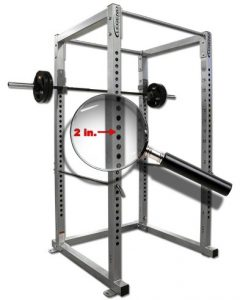 power rack adjustable holes