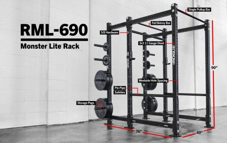 commercial power rack by rogue fitness - best power rack for gyms